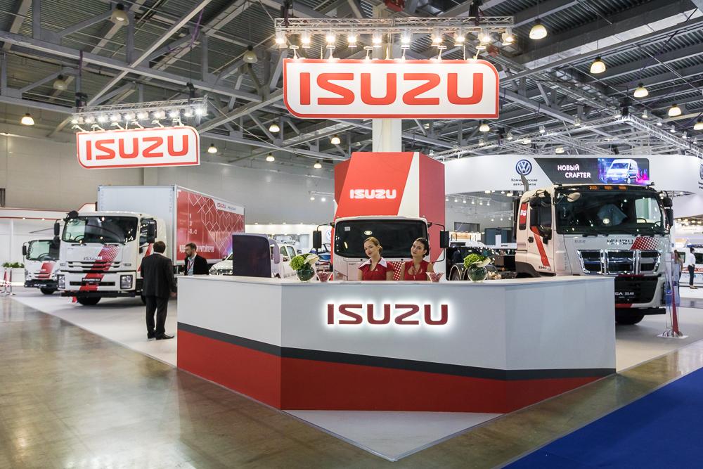 Исузу на международной выставке коммерческого автотранспорта, фото 1