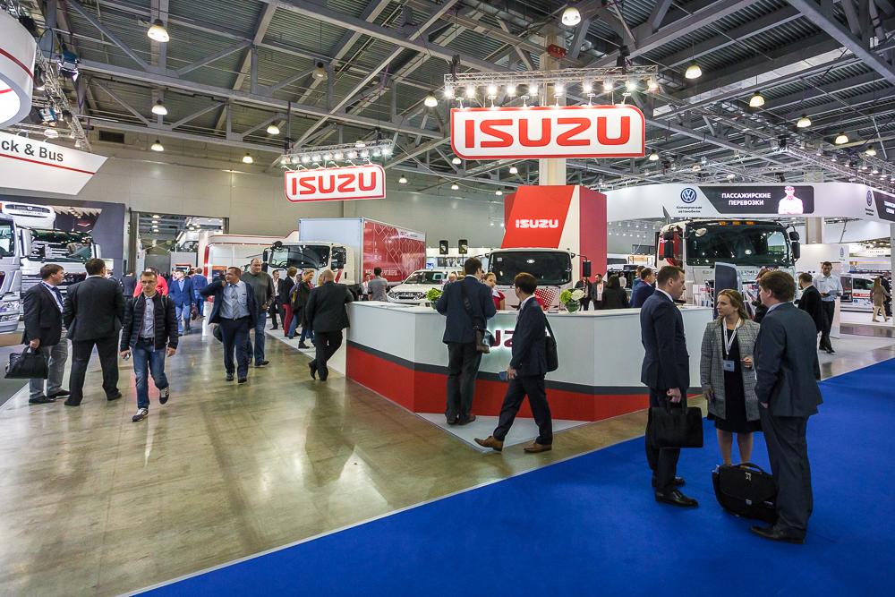 Исузу на международной выставке коммерческого автотранспорта, фото 5
