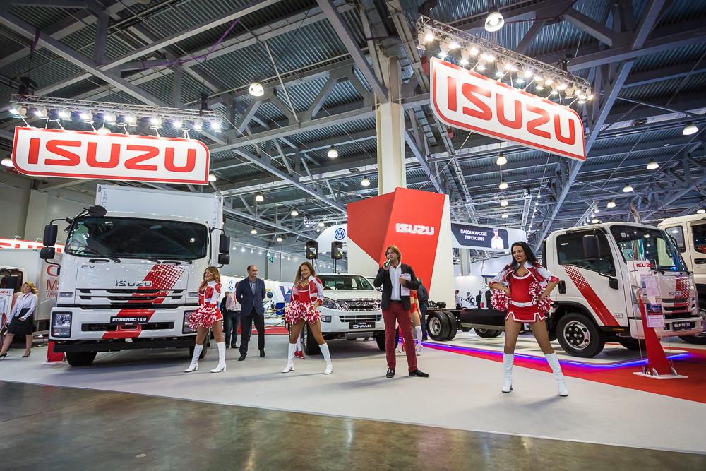 Исузу на международной выставке коммерческого автотранспорта, фото 6