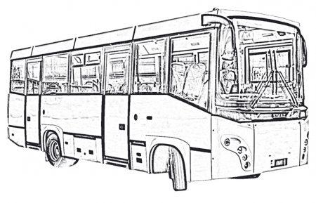Междугородный автобус SIMAZ